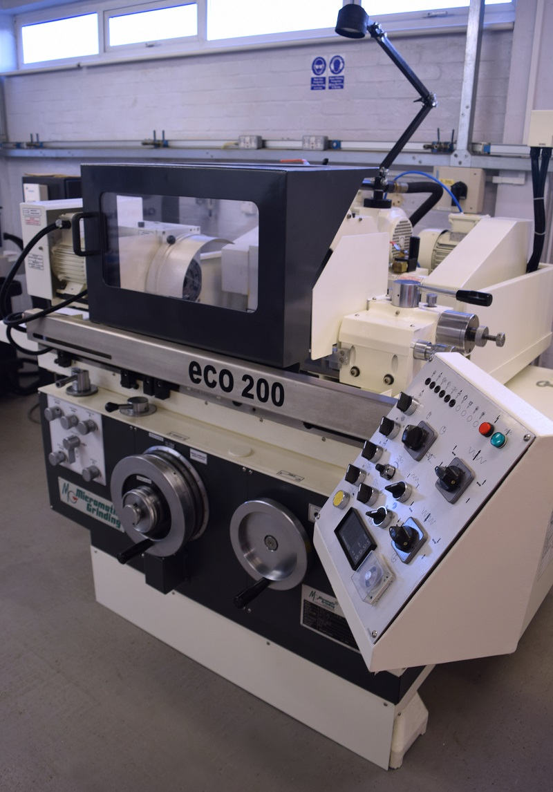 Micromatic Grinding Technologies' ECO 200 grinding machine