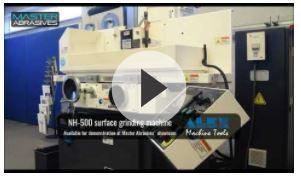 ALEX NH-500 surface grinder video link