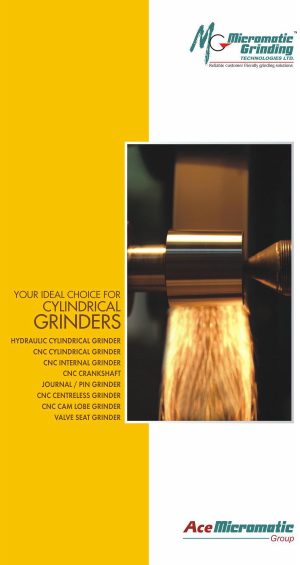 Micromatic - your ideal choice for Cylindrical Grinders