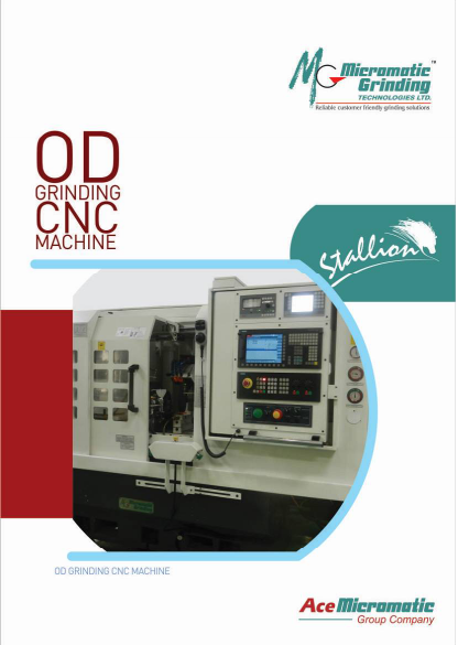 Micromatic CNC Stallion Series Cylindrical Grinding Machines