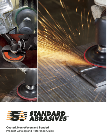 Standard Abrasives product catalogue