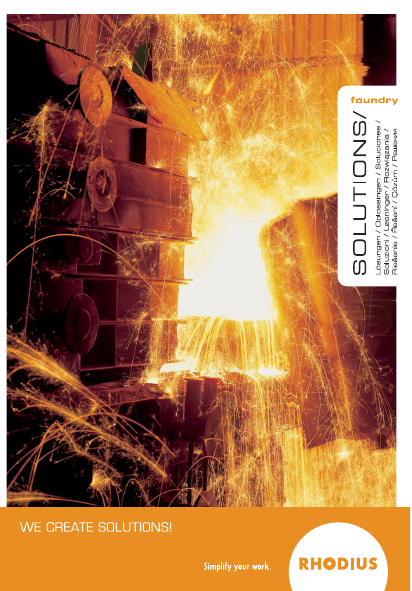 RHODIUS Foundry Solutions brochure