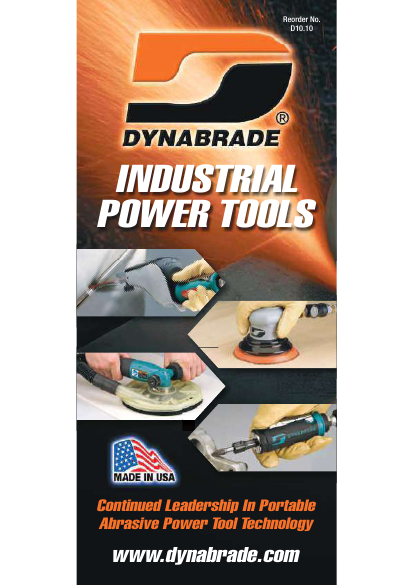 Dynabrade Industrial Power Tools Catalogue