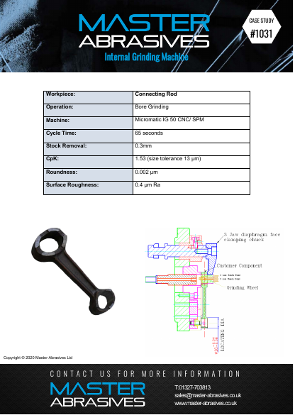 Internal Grinding Machine - Connecting Rod - Case Study 1031