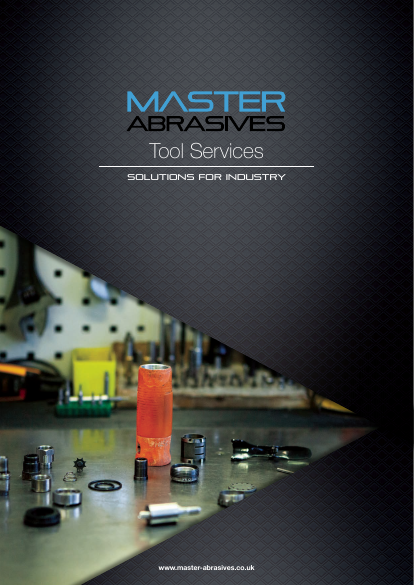 Master Abrasives - Tool Services Brochure